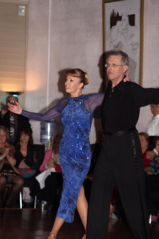 Jim Burroughs with Pamela