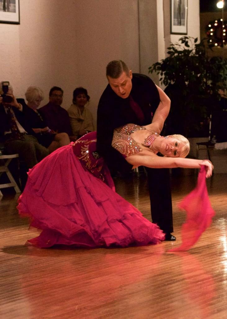 Alex and Pamela doing Tango!!
